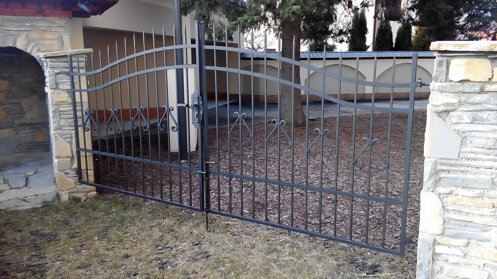 kovaná brána Zlín