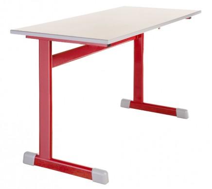 Školní lavice jednomístné i dvoumístné, pevné i výškově stavitelné Praha – kvalitní a ergonomické