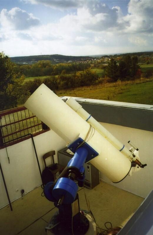 Pozorování oblohy Hradec Králové – večerní pozorování dalekohledy