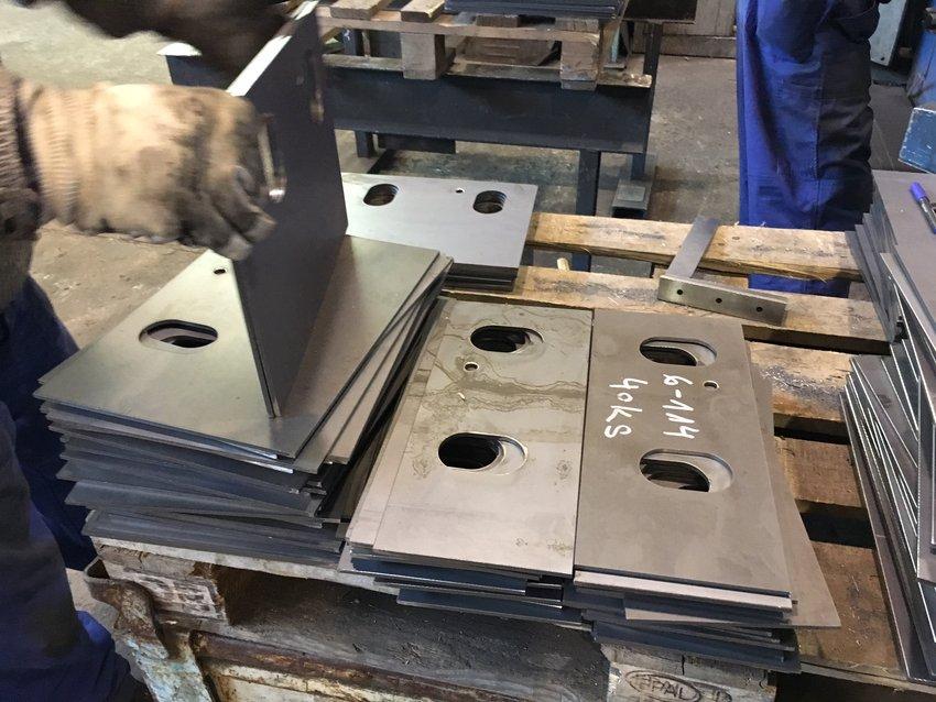 Výroba a montáž vlastních ocelových konstrukcí