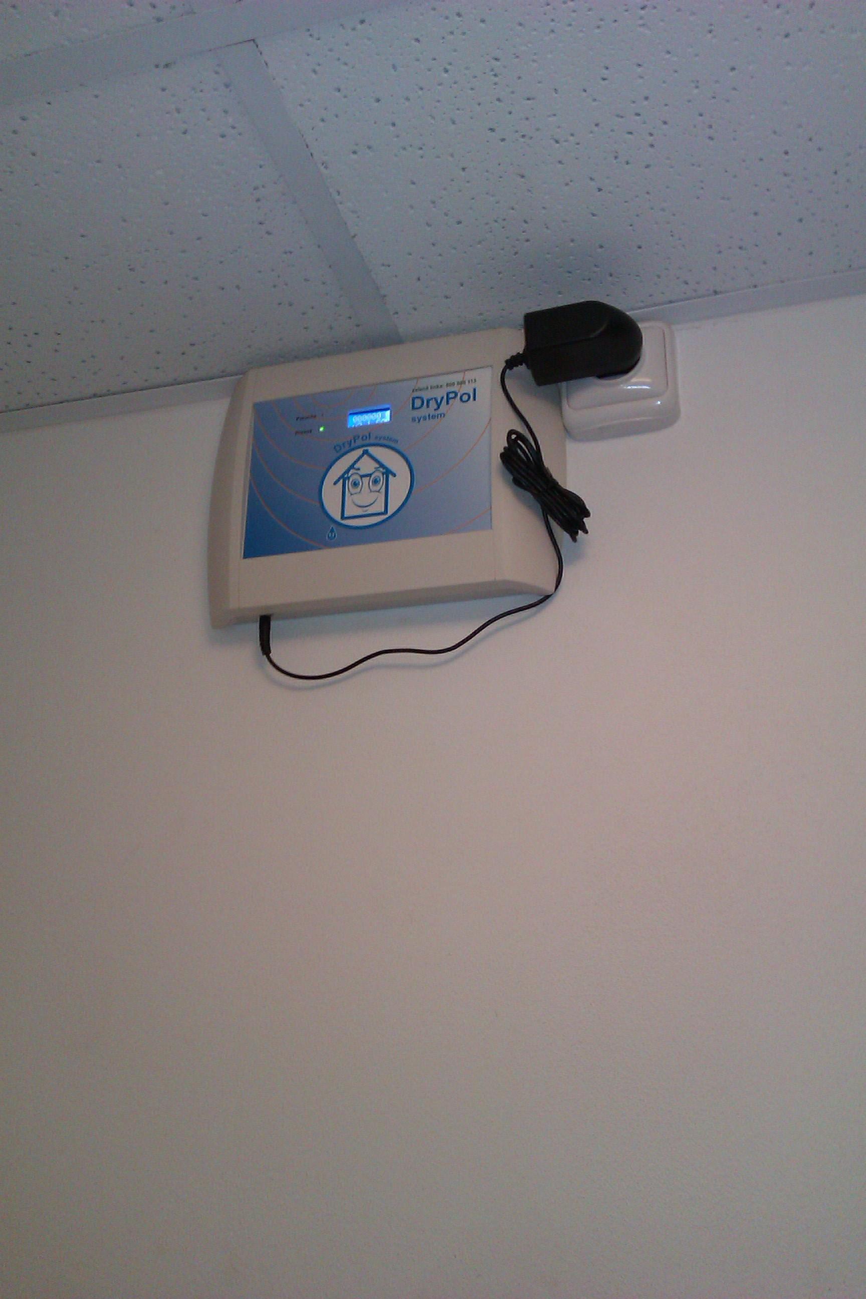 DryPol® systém - instalace