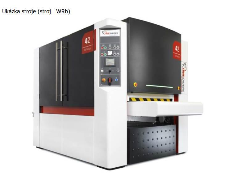 Poskytujeme službu plošného broušení otřepů plechových dílů po lisování na brousícím stroji