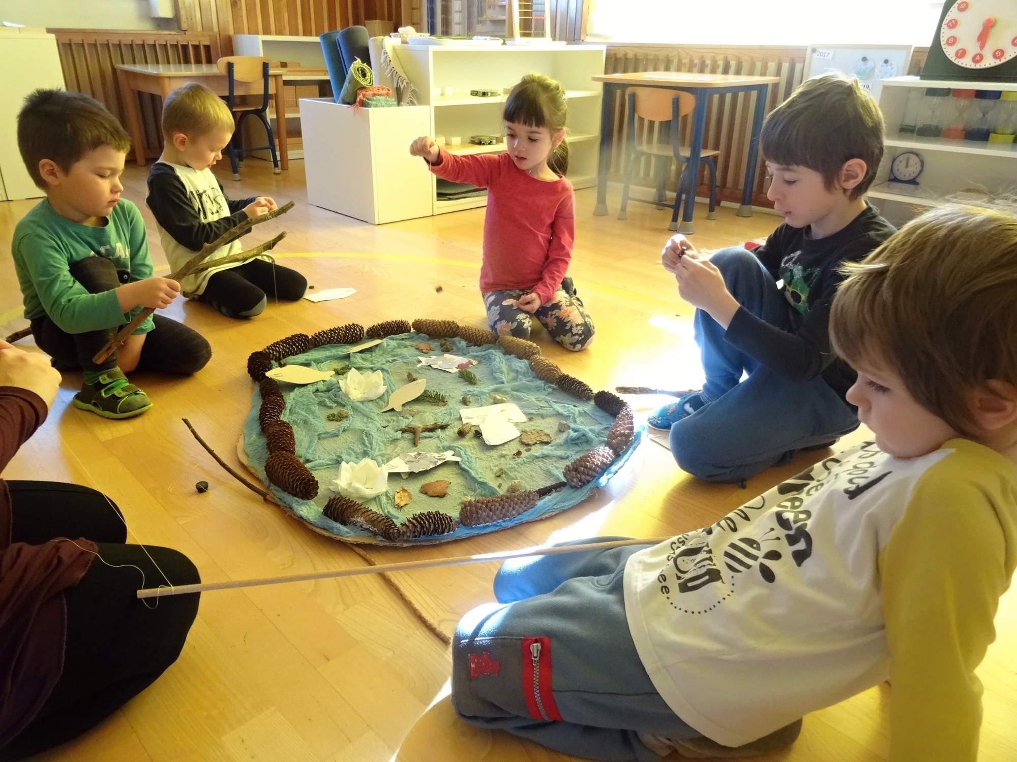 Mateřská škola Jablonec nad Nisou, výchova a vzdělávání dětí metodou Montessori