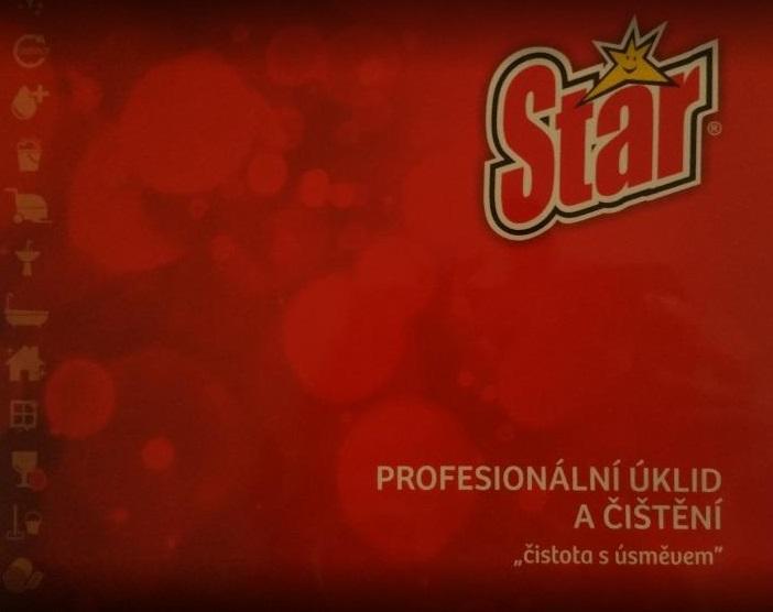čistící prostředky pro úklid firem STAR