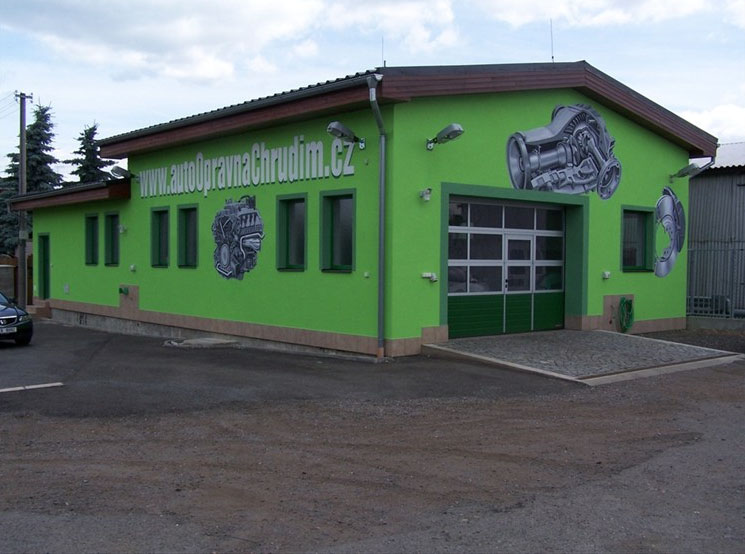 Autoservis a autoopravna Slatiňany, Heřmanův