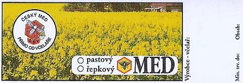 Etikety s ochrannými známkami ČSV