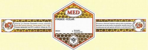 Internetový obchod s včelařskými etiketami, METAPIS Ing. Lea Andrejsová