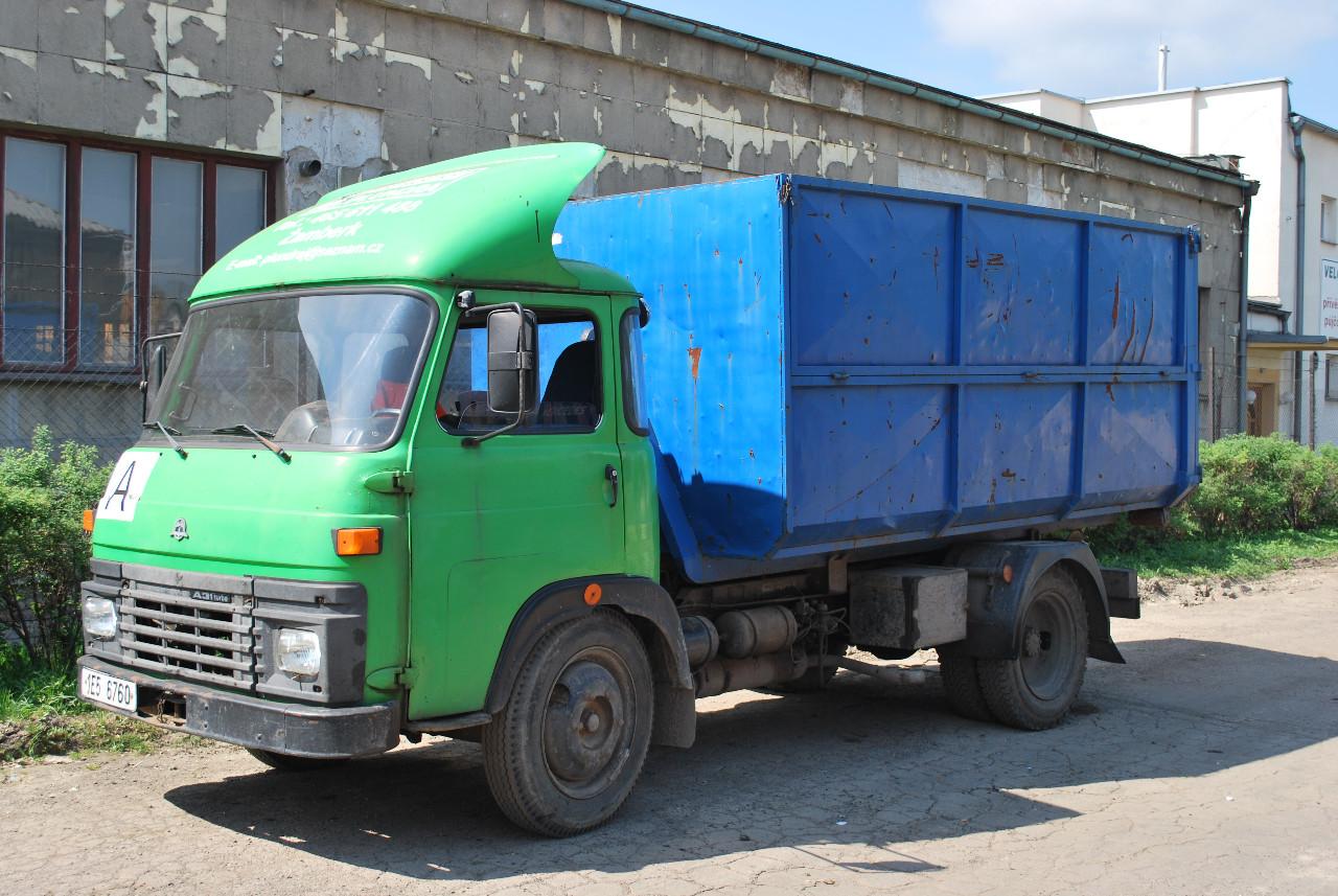 Přistavení kontejnerů Žamberk - zapůjčíme kontejnery na odpad