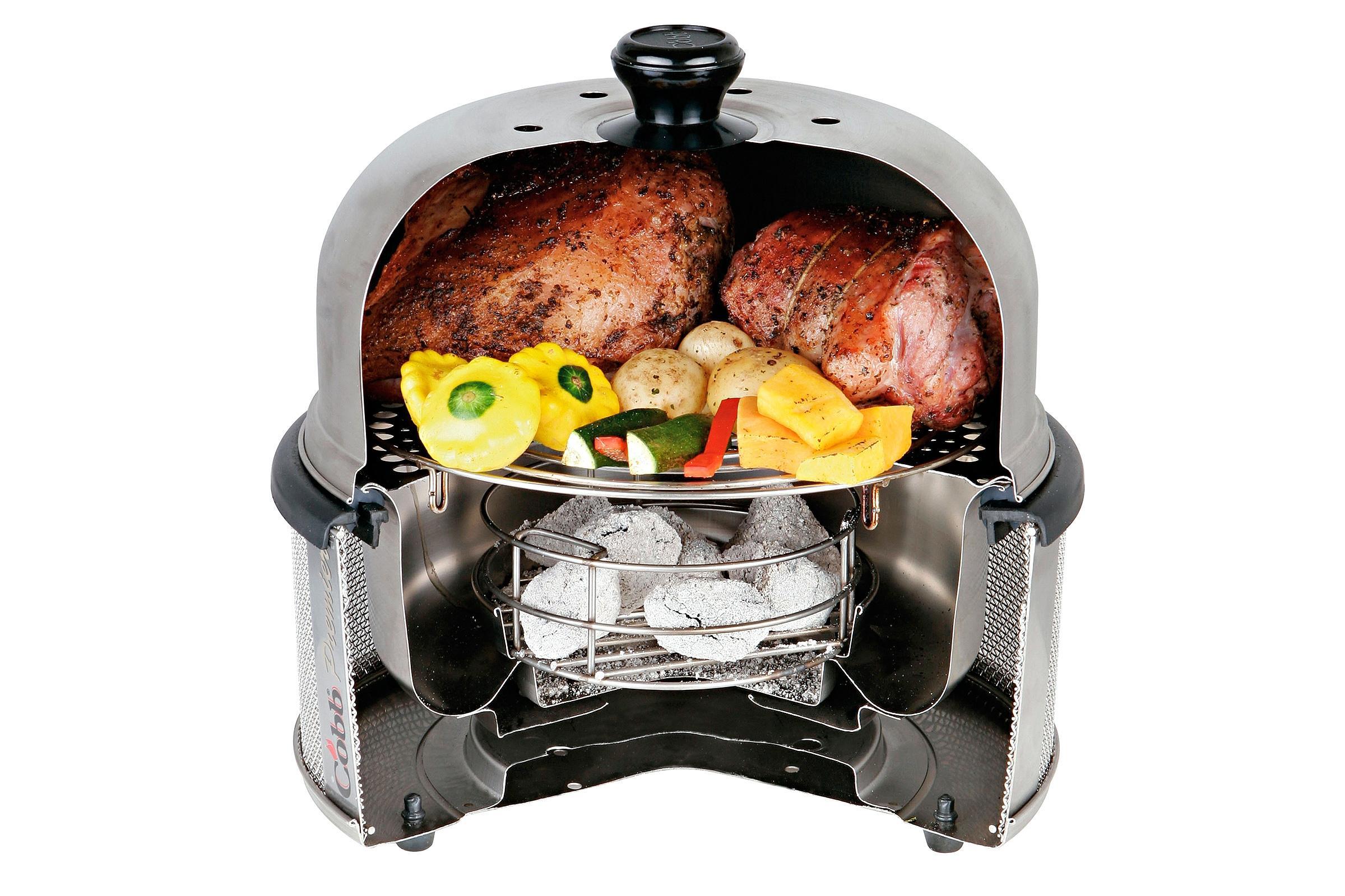 Grily COBB pro grilování, vaření i pečení, příslušenství, rošt, pánev