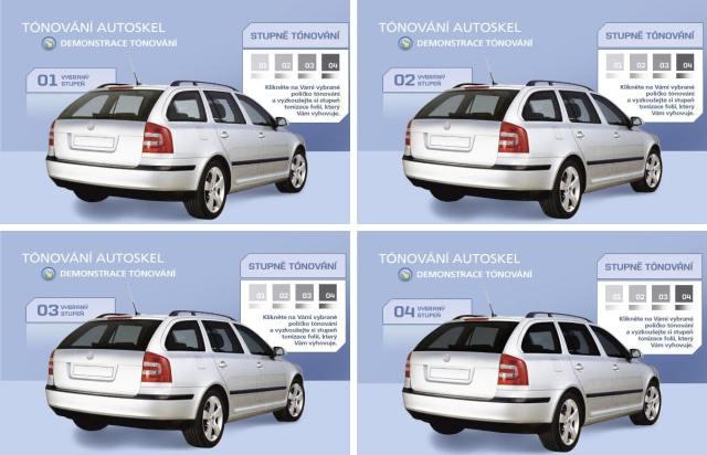 Výměna,tónování a kódování autoskel