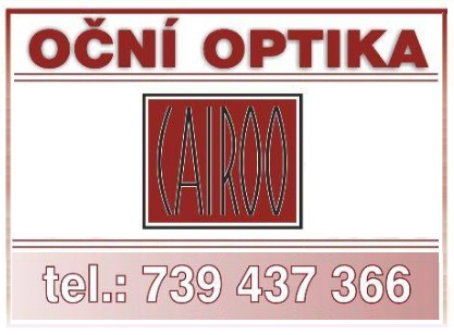 Cairoo - oční optika Otrokovice