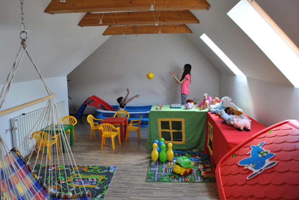 Dětský koutek pro ubytované v hotelu GONG Štramberk