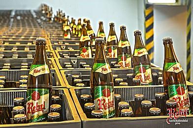 Havlíčkobrodský pivovar, výroba piva REBEL s označením České pivo
