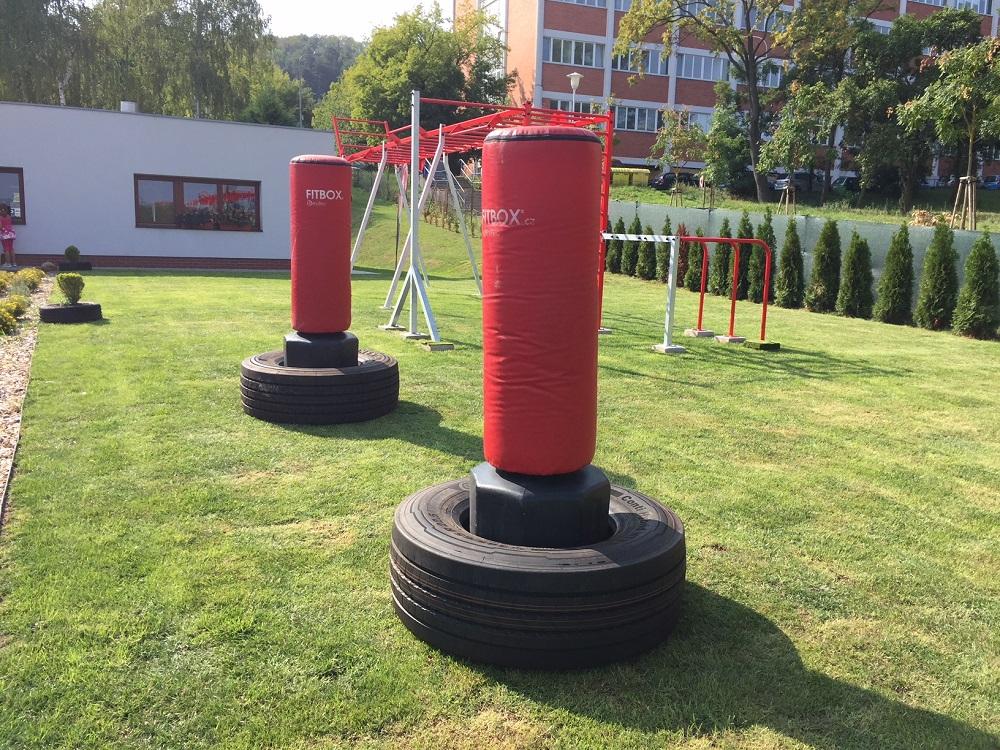Venkovní workoutová plocha – přirozený pohyb pro tělo na čerstvém vzduchu