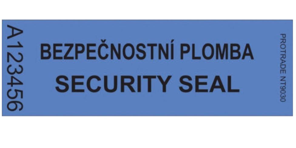Bezpečnostní plomby na našem e-shopu