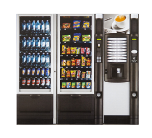 Plně automatické kávovary, prodejní automaty Olomouc