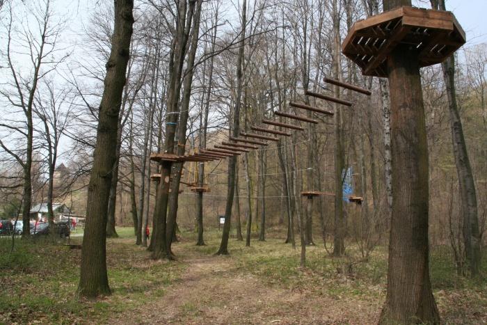 Hrad Helfštýn, lanový park,ubytování,restaurace Lipník nad Bečvou