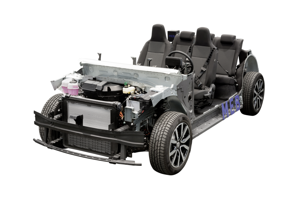 Speciálně vyvinutý podvozek ID pro rodinu elektromobilů značky Volkswagen