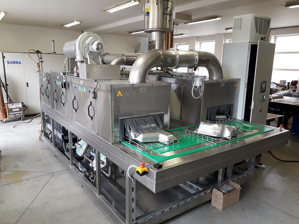 Průběžné odmašťovací a čistící zařízení od Šumperské společnosti SUMMA spol. s.r.o.