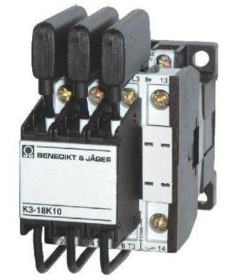 Stykač - optimalizované spínání kondenzátorů