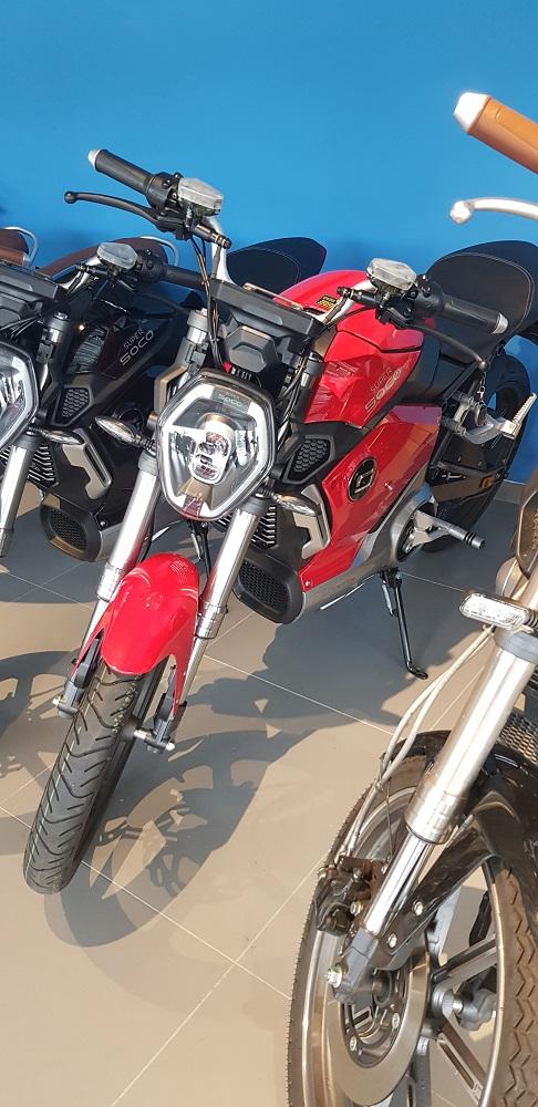 Elektromotocykly Super SOCO