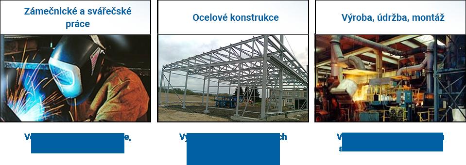 Zámečnické a svářečské práce Cerekvice nad Bystřicí - výroba náhradních dílů v oboru slévárenství