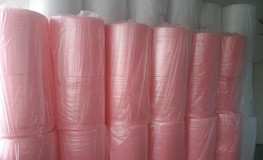 Široký sortiment polyethylenových bublinkových fólií