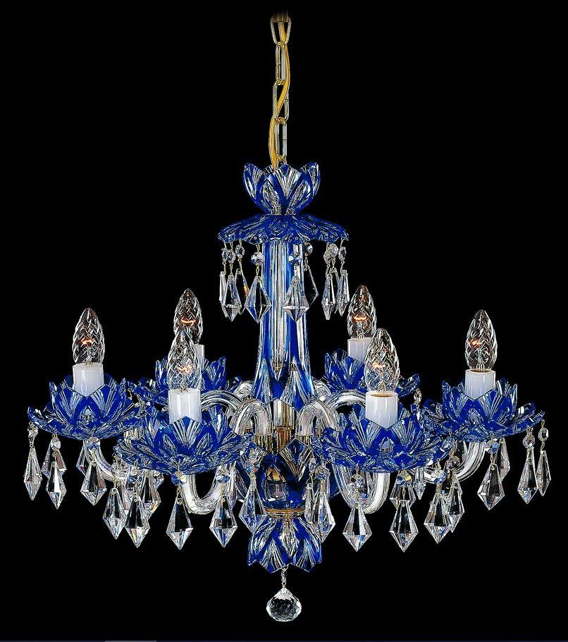 Křišťálové lustry Elite Bohemia