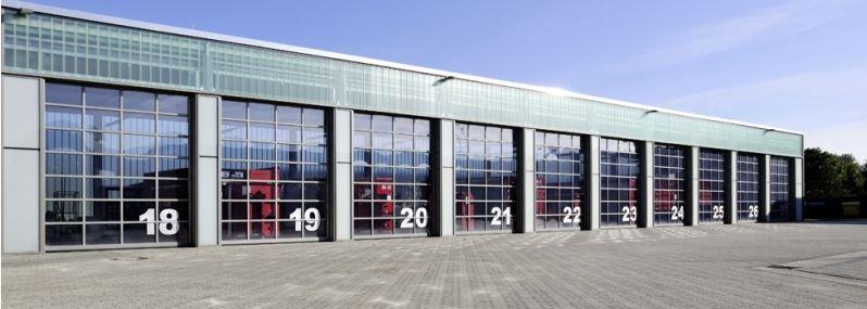 Garážová vrata pro výrobní haly a průmyslové objekty