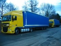 Koritensky a.s., Prachatice, přeprava nákladů do zahraničí, transport chladícími návěsy, nebezpečného zboží
