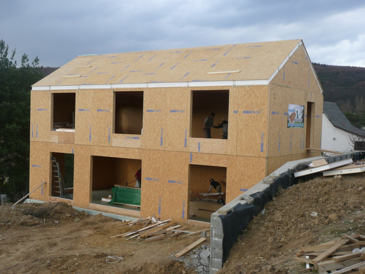 Czech republic sips sip structural insulated panels for Sip home construction