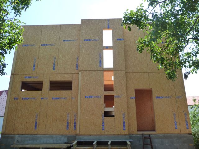 CZECH REPUBLIC; SIPs, SIP, Structural insulated panels, Europanel