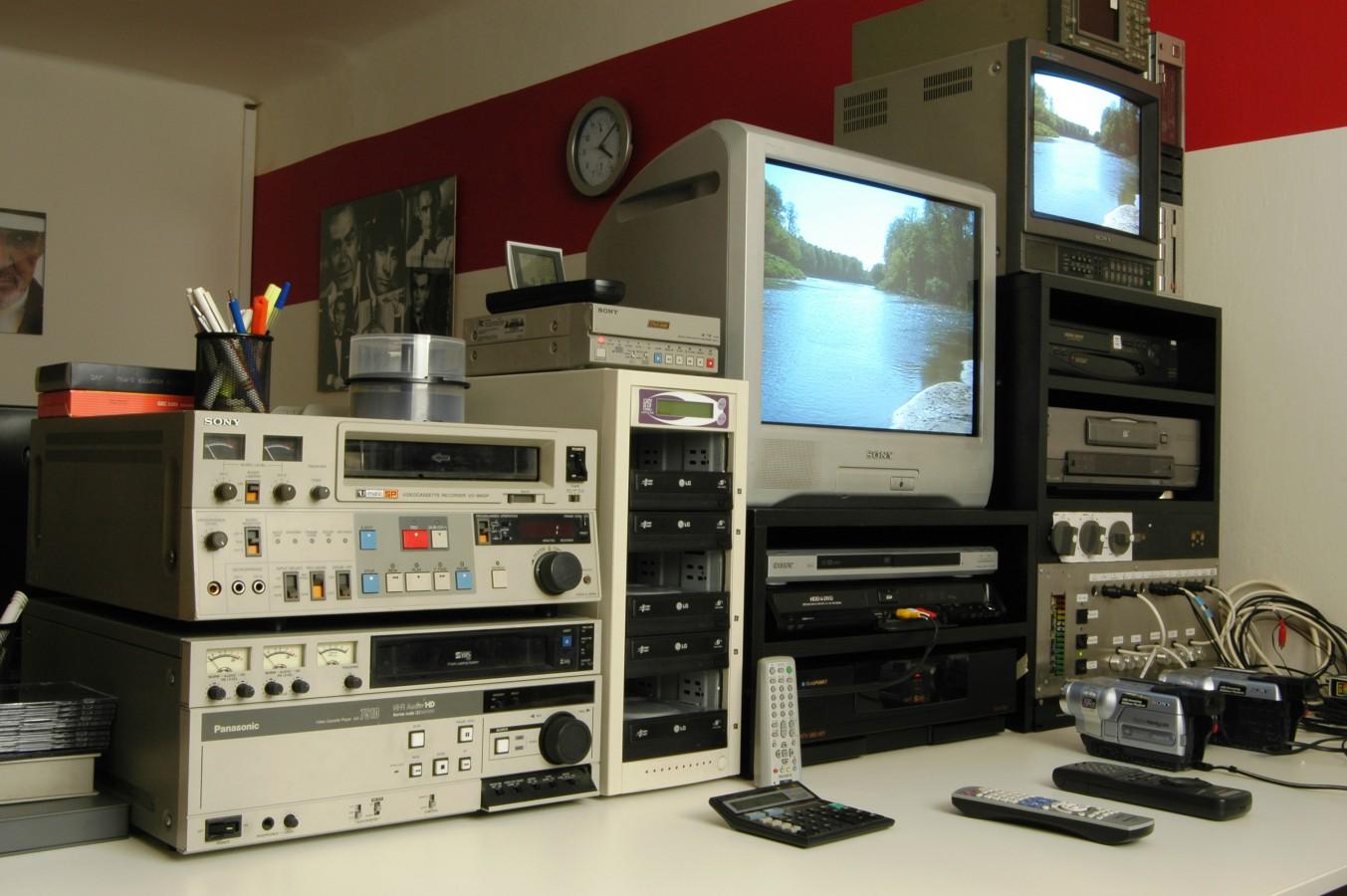 Kopírování, digitalizace VHS, převod na DVD, Praha