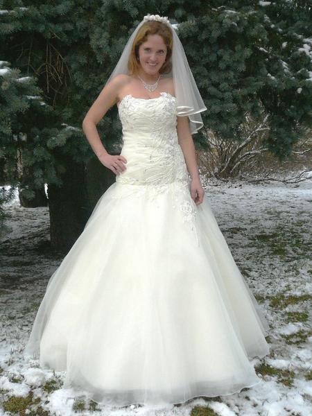 Luxusní svatební šaty, exkluzivní svatební šaty Liberec, Jablonec