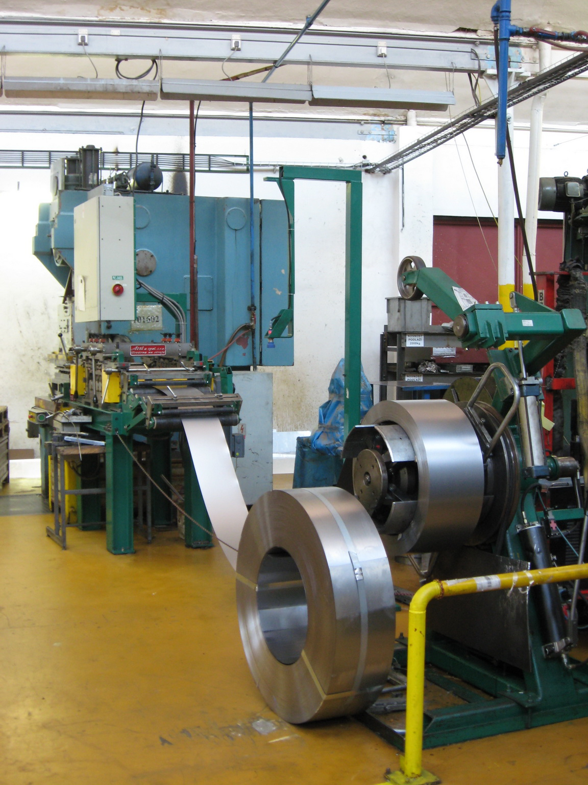 CZECH REPUBLIC; Pressing from sheets and from coils, spot welding - Partis JSC.