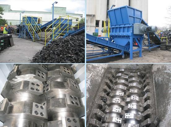 Tire recycling line production - Pavel Jelinek - Stroje (machines, machinery)