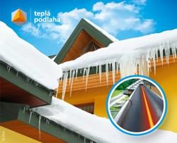 Ochrana okapů a střech před vznikem sněhových převisů