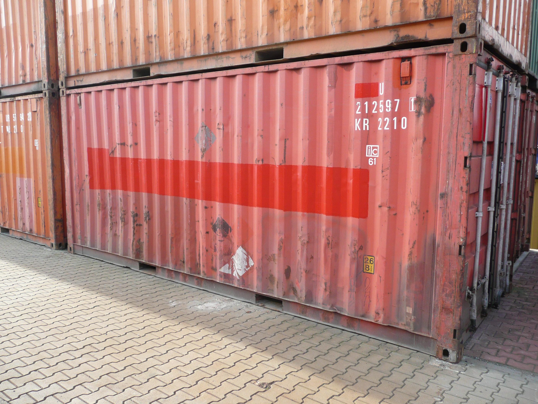 Pronájem námořních kontejnerů za akční ceny včetně možnosti dopravy