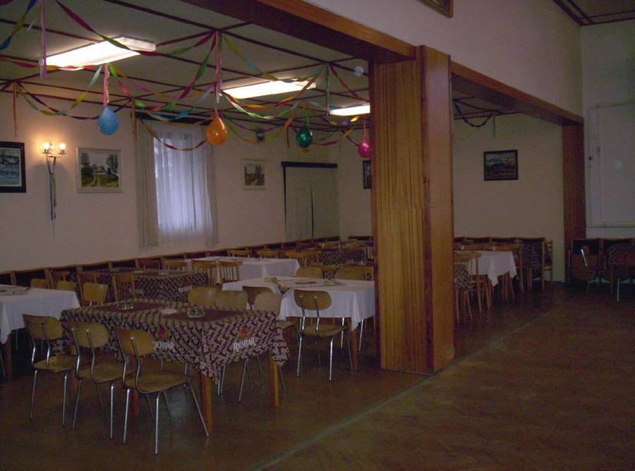 Obec Vortová – kulturní dům, pořádání akcí, Silvestr