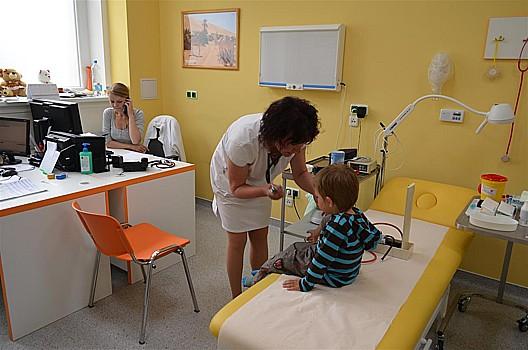 Dětské oddělení v nemocnici Kolín, zdravotní péče o děti a dospívající
