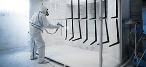 Gabriela Facility Management, Česká Lípa, čištění plugů pro práškové lakovny