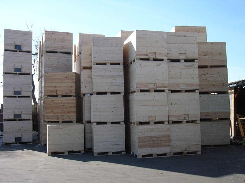 Výroba dřevěných obalů pro zemědělce