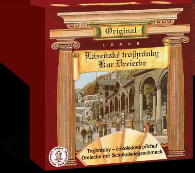 Tradiční receptura Lázeňských trojhránků
