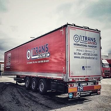 OLTRANS DOSTÁL s.r.o., jednorázová a pravidelná doprava v ČR a zahraničí