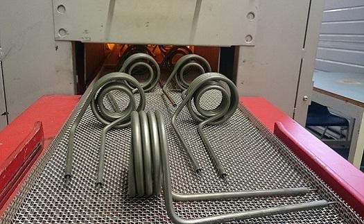 Žíhání kovových výrobků – změna mechanických vlastností, odstranění vnitřního pnutí, změna tvrdosti materiálu