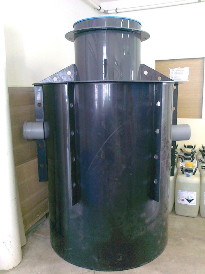 Odlučovače tuků ALFA OT k čištění vod kontaminovaných tuky a oleji pro potravinářský a masný průmysl, restaurace