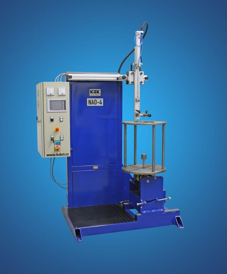 Stroje pro svařování a navařování, vývoj, výroba, dodávka a servis
