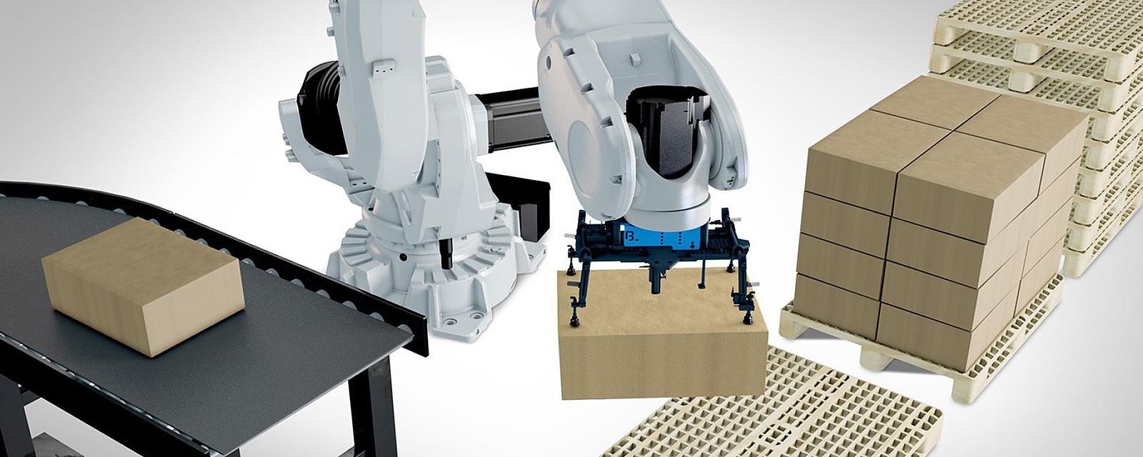 Robotická paletizace