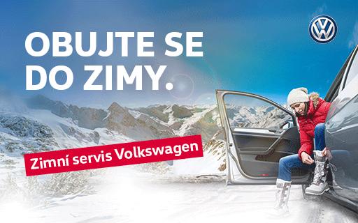 Zimní servisní akce pro vozy Volkswagen - servisní prohlídka i originální díly za výhodnou cenu