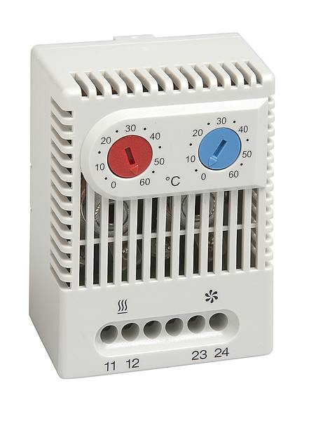 Ideální prostředí rozvaděčů zajistí termostaty a hygrostaty